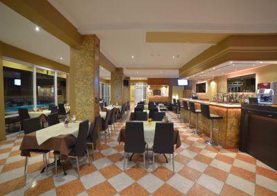 Angelina Hotel - Sidari Corfu - dinner area