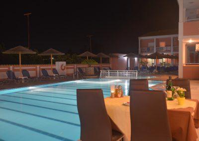 Angelina Hotel - Sidari - Corfu - pool side restaurant