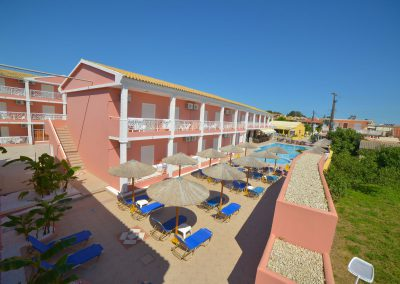 Angelina Hotel - Sidari - Corfu - pool view