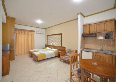Angelina Hotel - Sidari - Corfu - standard twin studio
